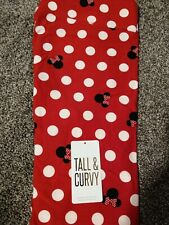 NEW LULAROE Disney TC Leggings Red W/ White polka Big Dot Minnie Mouse Limited