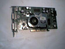 AGP Video Graphics Card nVidia QuadroFX Quadro FX 1100 IBM FRU 73P9613 Dual DVI