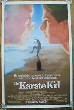 THE KARATE KID (1984) ORIGINAL MOVIE POSTER  -  ROLLED