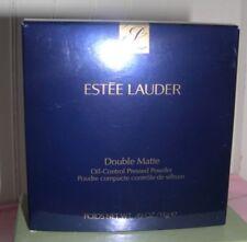 Nib Estee Lauder Double Matte Oil Control Pressed Powder~ 02 Light/Medium ~