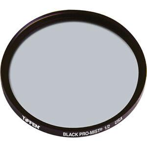 New Tiffen 72mm Black Pro-Mist 1/2 Filter Halation Diffusion Filters # 72BPM12