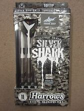 Harrows Silver Shark 18g Soft Tip Darts 55931 w/ FREE Shipping