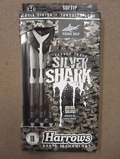 Harrows Silver Shark 18g Soft Tip Darts 55931 W/