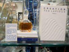 CREATION TED LAPIDUS parfum extract 7,5ml rare vintage perfume