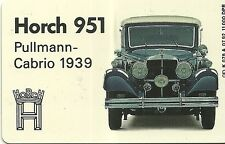 RARE / CARTE TELEPHONIQUE - HORCH 951 PULLMANN CABRIO 1939 VOLKSWAGEN /PHONECARD