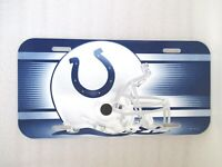 Indianapolis Colts License Logo Plate Schild 30 cm NFL Football New