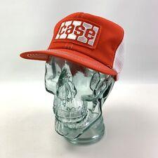 Vtg Patch Front Mesh Snapback Trucker Hat Cap CASE K Brand - Excellent