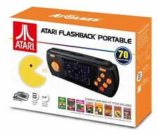Atari Flashback Portable Game Handheld LCD 2017 70 Built-in Retro Games SD Slot