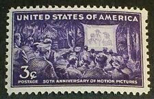 U.S. Scott 926 Motion Pictures  MNH OG F-VF 3c