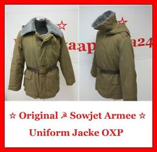 ☆ Original ☭ Sowjetarmee Russische Rote Armee Winter Uniform-Jacke_Бушлат OXP ☆