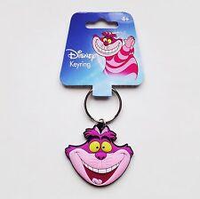 Alice in Wonderland - Cheshire Cat Head Soft Touch PVC Keyring/Keychain 25303