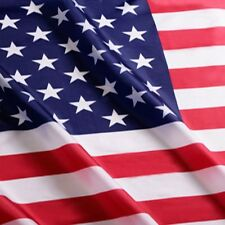 3x5 Foot American Flag Us Polyester Flag with Brass Grommets Uv Fade Resistant