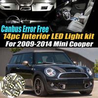 Error Free White Interior Lights Package 15x for Mini cooper S R53 2001-2006 L7