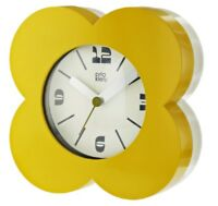 Orla Kiely Alarm Clock - Dandelion Yellow