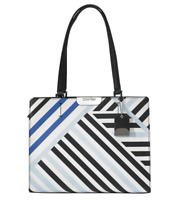 Calvin Klein Women's Lola Saffiano Geometric Satchel, MSRP $248