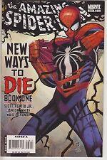 AMAZING SPIDER-MAN #568 COVER BY JOHN ROMITA Jr 1st PRINT NEW WAYS TO DIE STORY