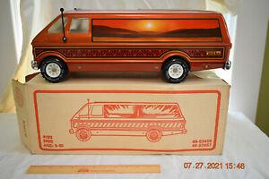 Vintage 1970s Tonka Mighty Custom Van # 3980 & RARE Not 3985 Picture Box NM/MIB