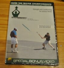 STRENGTH and CONDITIONING for SERIOUS TENNIS DVD Etcheberry  FACTORY SEALED