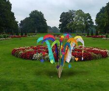 Balifahne Fahne 100 cm mit Stab 140 cm Windspiel viele Farben Umbul Bali Herz
