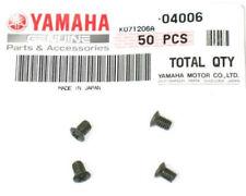 New listing 4-Yamaha Oem Fuel Tank Badge-Emblem Screws-Xj650_Xj550_Xs1100 90152-04006-00