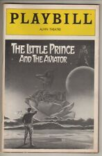 """""""The Little Prince and the Aviator""""  Anthony Rapp   DEBUT   Playbill  1982"""