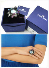 Authentic NIB Swarovski MAGNETIZED COCKTAIL RING MULTI-COLORED Size 52 US 6/s