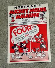 """DISNEY1935DAIRY PROMOTIONAL""""MICKEY MOUSE MAGAZINE""""MARCH,VOL.II, NO.5(9.0)V. FINE"""