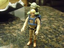 Vintage Star Wars Bespin Luke In Training and Yoda Action Figures 1980