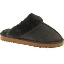 Zapatillas de andar color principal marrón de piel por casa de mujer