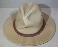 RARE Stetson Cowboy Western Hat Tan Small
