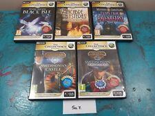 5 Hidden Object Game Bundle Big Fish Games Windows XP/Vista/ 7 PC CD Collectors