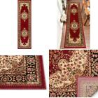 Aurora Mahal Traditional Medallion Persian Red 2 Ft. 7 In. X 9 Ft. 10 In. Runner
