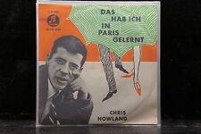 Chris Howland - Das Hab Ich In Paris Gelernt / Blonder Stern