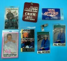 Alan Jackson and Diamond Rio Laminated Back Stage All Access Concert Passes