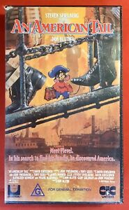 An American Tail VHS Retro Vintage Video