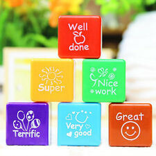 Teachers Self Inking Motivational Praise Reward Personalised School Stamps NEW