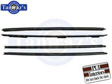 81-88 Monte Carlo Window Felt Fuzzies WindowFelt Kit OE Style w/o belt molding