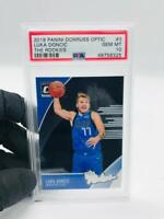 2018-19 Panini Donruss Optic Luka Doncic The Rookies PSA 10 Gem Mint #3