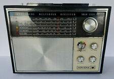 Kor/Sonic Model 1860 Vintage 6 Band Radio 18 Transistor AC/DC AFC FREE FAST SHIP