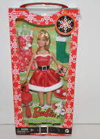 Barbie Happy Holidays 2008 Target Exclusive Doll Mattel New Christmas
