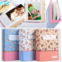 "4R 6"" 100-Pocket Picture Album Case Photo Storage Hold Baby Wedding Family Memo"