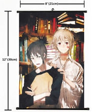 HOT Anime No.6 Shion & Nezumi Wall Poster Scroll Home Decor Cosplay 1600