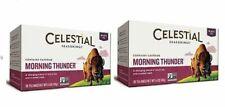 Celestial Seasonings Morning Thunder Black Tea 2 Box Pack