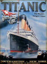 titanic ocean ship modern art A1 SIZE PRINT -poster  FOR YOUR FRAME vintage