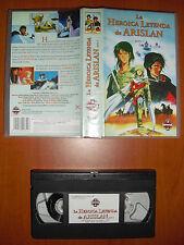 La heroica leyenda de Arislan Parte 1 [Anime VHS] Manga Films Edición Española