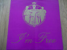 """F.A.F - I'M FREE - 12"""" RECORDS / VINYL - SONY MUSIC ENTERTAINMENT (UK) - XPR2710"""