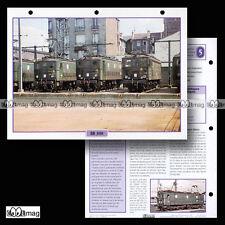 #066.10 Fiche Train - L'HISTOIRE DES LOCOMOTIVES ELECTRIQUES BB 300 depuis 1939