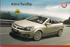 VAUXHALL ASTRA TwinTop 2007 UK Mercato Opuscolo Sport Design 1.6 1.8 2.0T 1.9 CDTI