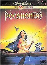 Pocahontas (Disney Gold Classic Collection) DVD Mel Gibson Linda Hunt FREE SHIP