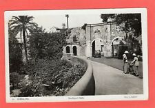 More details for gibraltar  southport gate rp pc 1937 travel key slogan ref s445